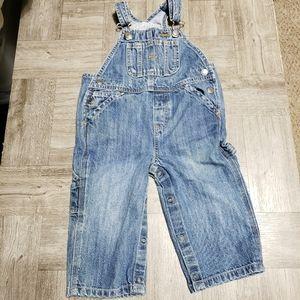 Baby Gap denim overalls